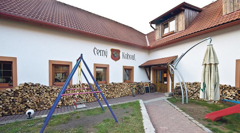 Restaurace Černý kohout u Porkopského údolí
