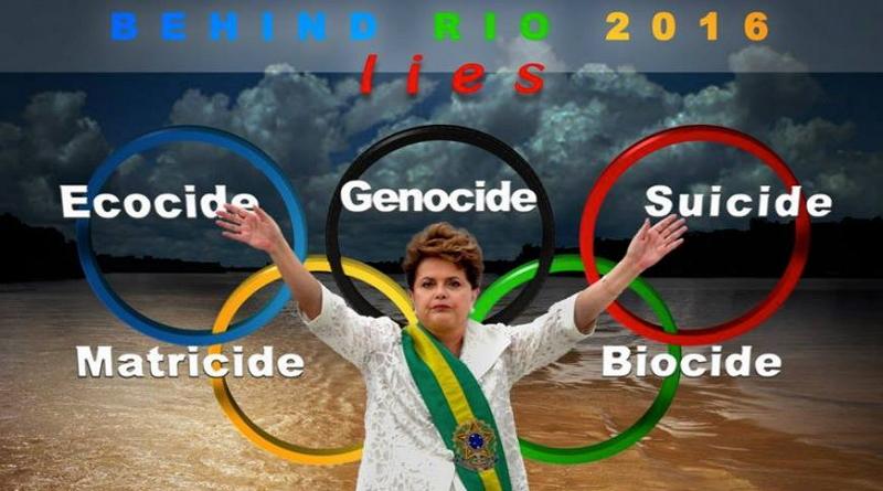 Za nevzdělaností brazilských hostitelů olympijských her